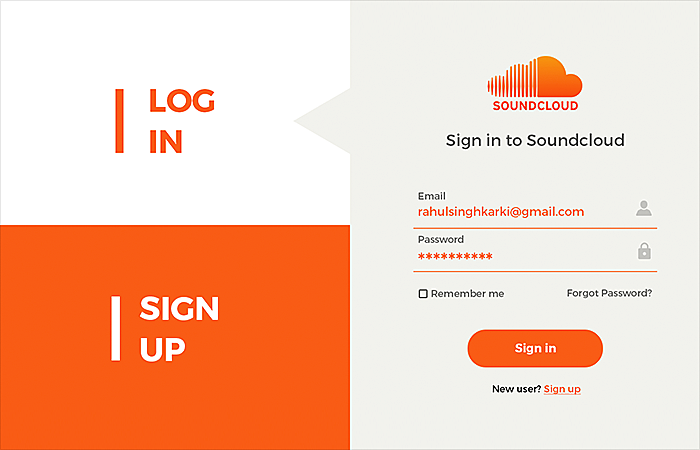 login page design best practices
