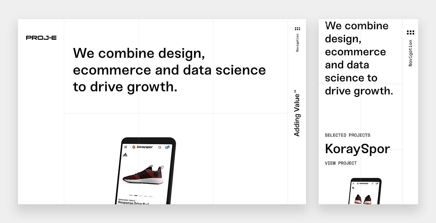 mobile first design examples