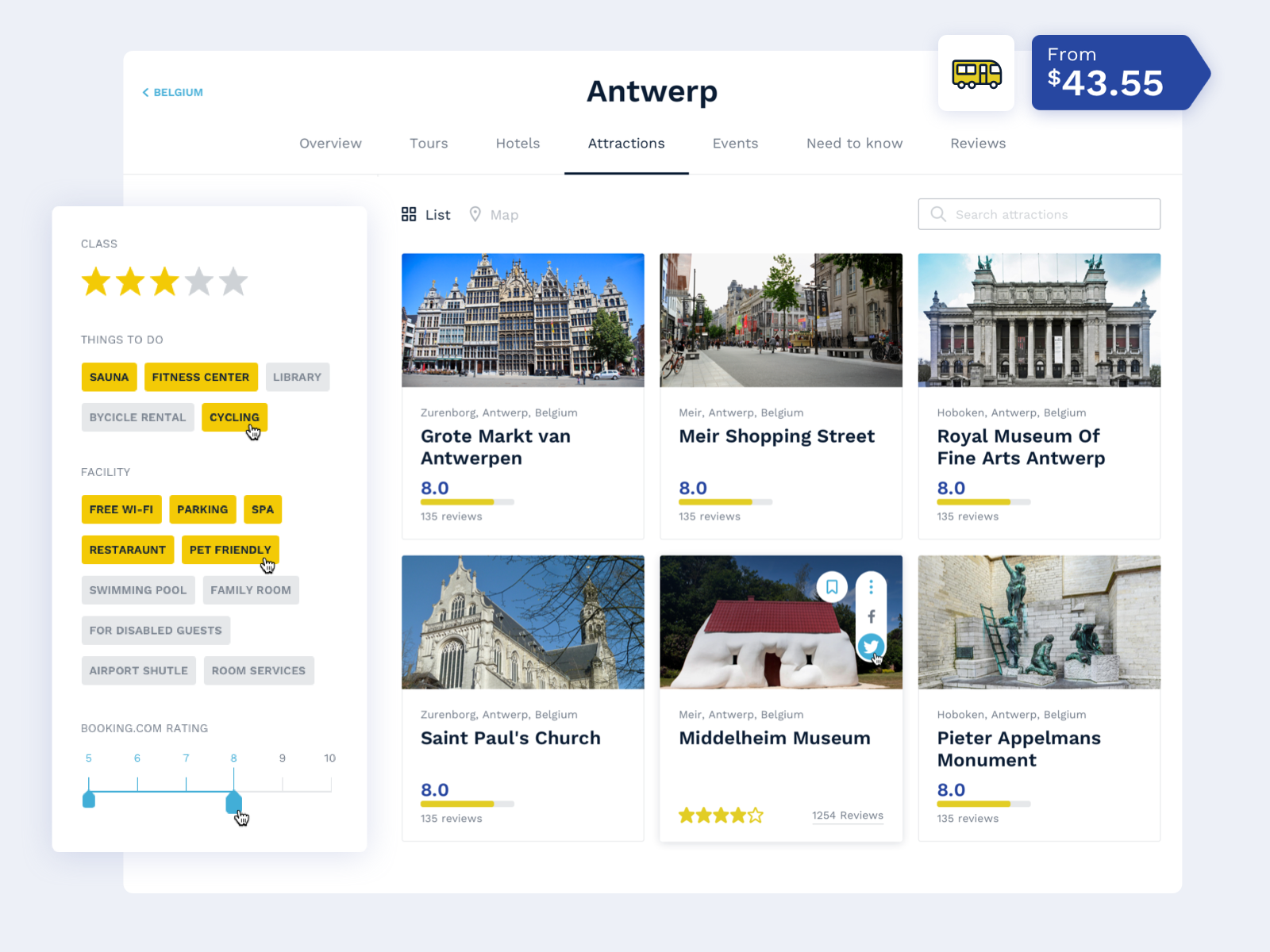 travel marketplace development