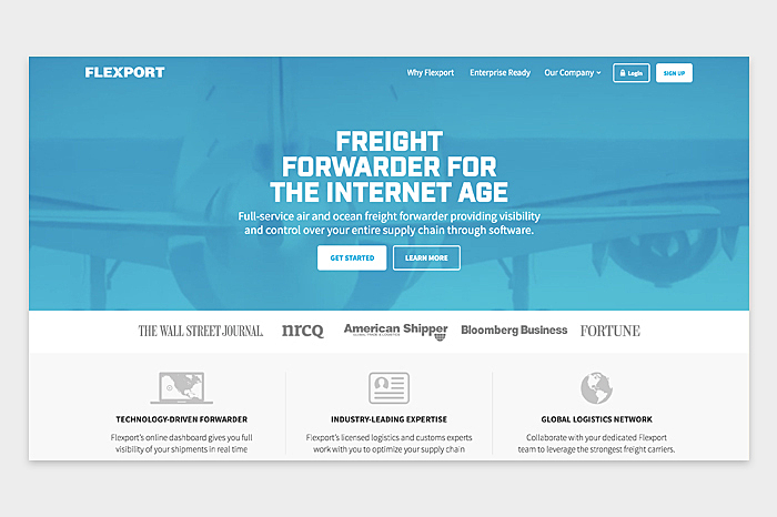 Logistics Company Web Design: Tips and Tricks | AGENTE